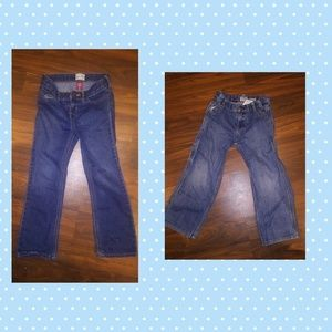Size 6 boy jeans-two pairs